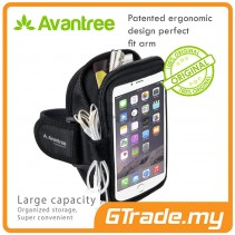 AVANTREE Running Sports Smartphone Armband Pouch Samsung Galaxy Note 8 7 S10 Plus