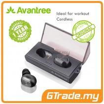 AVANTREE Mini Wireless Bluetooth Ergonomic Earbuds TWS320 Dual Mode