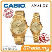 CASIO Couple MTP-1275G-9A & LTP-1275G-9A Watches Men Women [PRE]