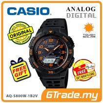 CASIO STANDARD AQ-S800W-1B2V Analog Digital Watch | Sporty Tough Solar