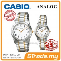 CASIO Couple MTP-1275SG-7B & LTP-1275SG-7B Watches Jam Pasangan [PRE]