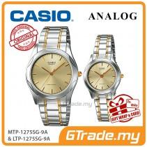 CASIO Couple MTP-1275SG-9A & LTP-1275SG-9A Watches Jam Pasangan [PRE]