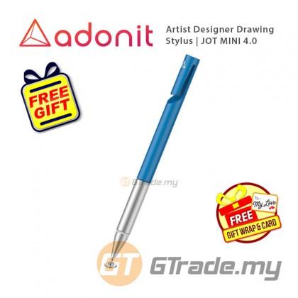 ADONIT Jot Mini 4 Stylus Pen Blue Apple iPad Air Pro Mini 4 5 6  +Free Gift