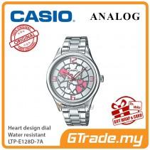 Casio Women Ladies LTP-E128D-7A Analog Watch Jam Tangan Wanita