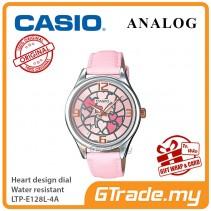 Casio Women Ladies LTP-E128L-4A Analog Watch Jam Tangan Wanita