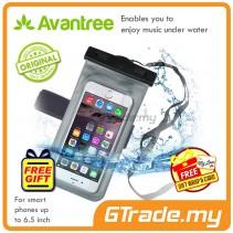 """Avantree Waterproof Bag Case with Earphone Jack Walrus iPhone Smartphone 6.5"""" *Free Gift"""