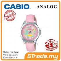 Casio Women Ladies LTP-E129L-4A Analog Watch Jam Tangan Wanita