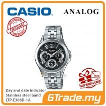 Casio Women Ladies LTP-E308D-1A Analog Watch Jam Tangan Wanita