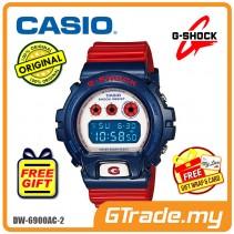 CASIO G-SHOCK DW-6900AC-2 STANDARD Digital Watch | Red & Blue Colors [PRE]