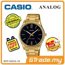 Casio Men MTP-V005G-1B Analog Watch Jam Tangan Lelaki