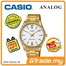 Casio Men MTP-V005G-7B Analog Watch Jam Tangan Lelaki