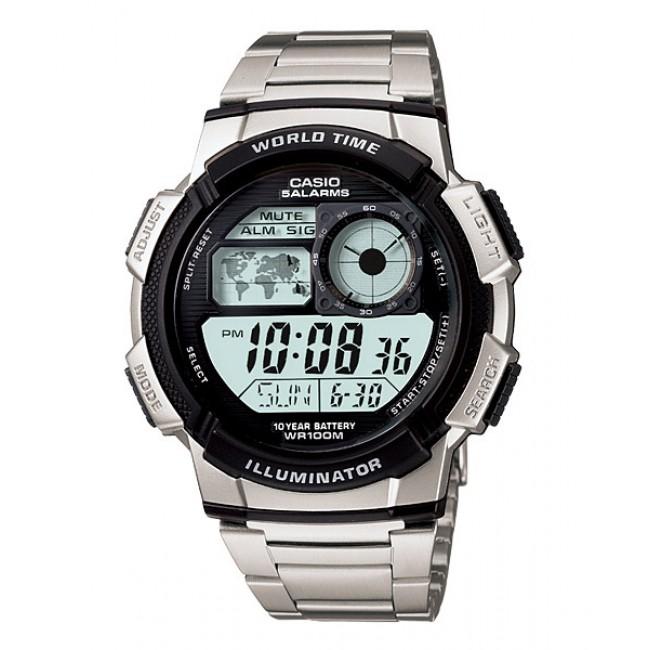 [READY STOCK] CASIO STANDARD AE-1000WD-1AV Digital Watch | 10 Yrs Batt. WR100M