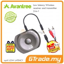 Avantree Bluetooth Transmitter Receiver Wireless Audio Adapter Saturn Pro *Free Gift