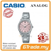 Casio Women Ladies LTP-V005D-4B2 Analog Watch Jam Tangan Wanita [PRE]