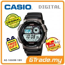 CASIO STANDARD AE-1000W-1BV Digital Watch | 10 Yrs Batt. WR100M