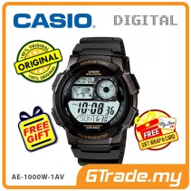 CASIO STANDARD AE-1000W-1AV Digital Watch | 10 Yrs Batt. WR100M