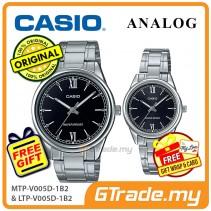 Casio Couple MTP-V005D-1B2 & LTP-V005D-1B2 Men Ladies Watches  [PRE]
