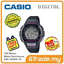 [READY STOCK] Casio Sport LWS-2000H-1A Women Kids Watch Jam Sukan Wanita Kanak2