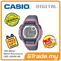 [READY STOCK] Casio Sport LWS-2000H-4A Women Kids Watch Jam Sukan Wanita Kanak2