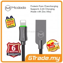 Mcdodo Auto Disconnect Cable Lightning CA390 Grey Apple iPhone iPad *Free Gift