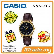 Casio Ladies LTP-V005GL-1B Analog Watch Jam Tangan Wanita [PRE]