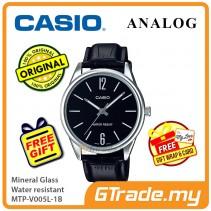 Casio Men MTP-V005L-1B Analog Watch Jam Tangan Lelaki [PRE]