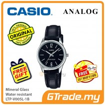 Casio Ladies LTP-V005L-1B Analog Watch Jam Tangan Wanita [PRE]