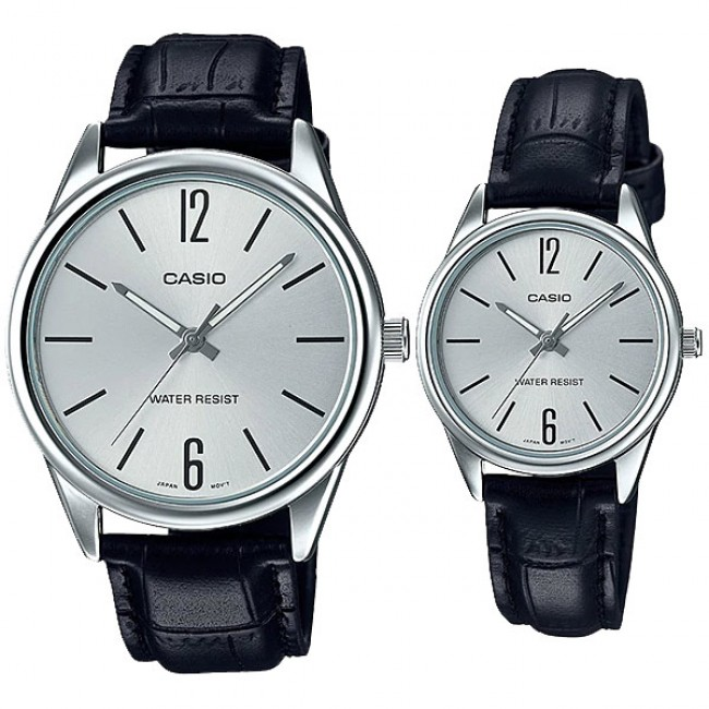 Casio Couple MTP-V005L-7B & LTP-V005L-7B Analog Watches Jam Tangan Pasangan [PRE]