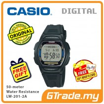 Casio Kids Mens LW-201-2A Digital Watch Jam Tangan Kanak-Kanak [PRE]