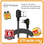 Mcdodo 90' LED Light 1.2M Lightning USB Gaming Charger Cable Black *Free Gift
