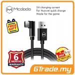 Mcdodo 90' 1.2M 5A Type-C USB Gaming Charger Cable For Huawei Black *Free Gift