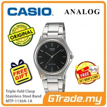 Casio Mens MTP-1130A-1A Analog Watch Jam Tangan Lelaki [PRE]