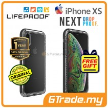 Lifeproof Next Shield Case Apple Iphone Xs X Black Crystal *Free Gift
