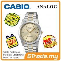 Casio Men MTP-1141G-9A Analog Watch Jam Tangan Analog Lelaki  [PRE]