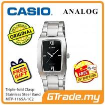 Casio Men MTP-1165A-1C2 Analog Watch Jam Tangan Analog Lelaki  [PRE]