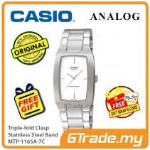 Casio Men MTP-1165A-7C Analog Watch Jam Tangan Analog Lelaki  [PRE]