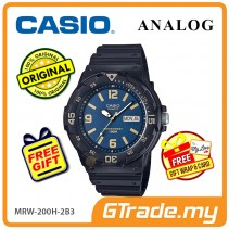 CASIO STANDARD MRW-200H-2B3V Analog Mens Watch | Day Date Display