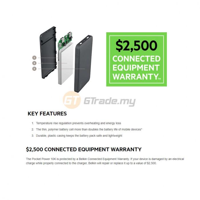 Belkin Pocket Power 15000 mah Power Bank Portable Charger
