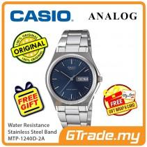 Casio Men MTP-1240D-2A Analog Watch Jam Tangan Analog Lelaki  [PRE]