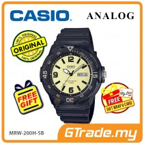 CASIO STANDARD MRW-200H-5BV Analog Mens Watch | Day Date Display