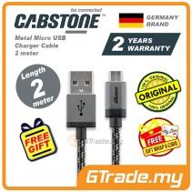 CABSTONE Metal Charger Micro USB 2M ASUS Zenfone 3 XiaoMi Mi Redmi Note 3 2 Mi 3 4i  Oppo R7S F1S Plus Find 7 *Free Gift