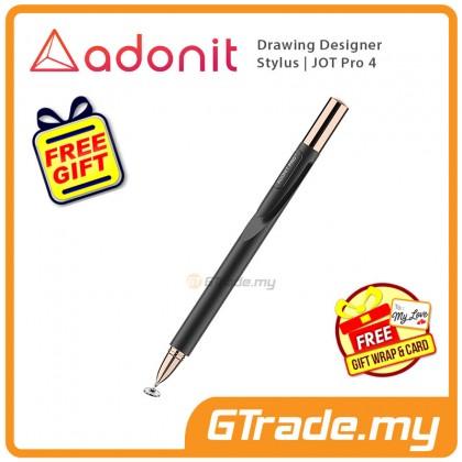 Adonit Jot Pro 4 Drawing Designer Stylus Pen Black iPhone Xs Max X iPad