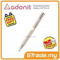 Adonit Jot Pro 4 Drawing Designer Stylus Pen Gold iPhone Xs Max X iPad