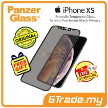 PanzerGlass Case Friendly Tempered Glass Screen Proctector Black Privacy Apple iPhone Xs X *Free Gift