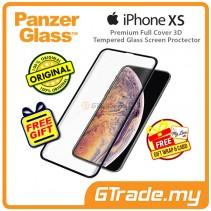 PanzerGlass Premium Full Cover 3D Tempered Glass Screen Proctector Apple iPhone Xs X *Free Gift