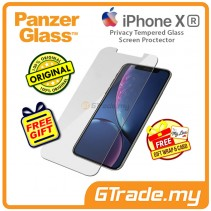 PanzerGlass Privacy Tempered Glass Screen Proctector Apple iPhone Xr *Free Gift