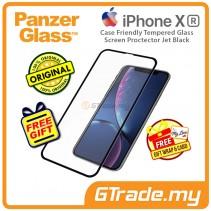 PanzerGlass Case Friendly Tempered Glass Screen Proctector Jet Black Apple iPhone Xr *Free Gift