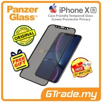 PanzerGlass Case Friendly Tempered Glass Screen Proctector Privacy Apple iPhone Xr *Free Gift