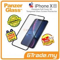 PanzerGlass Premium Full Cover 3D Tempered Glass Screen Proctector Apple iPhone Xr *Free Gift