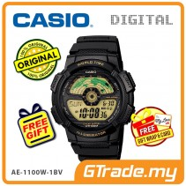 CASIO STANDARD AE-1100W-1BV Digital Watch | 10 Yrs Batt. WR100M